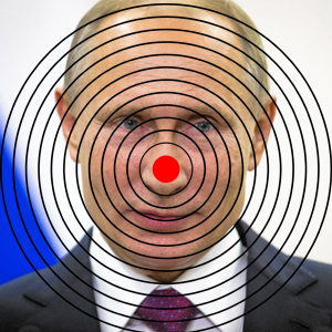 Vladimir Putin Bulls Eye Target – Ammo Daily Deals